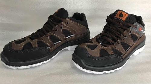 calzado de seguridad bladi zapatilla, trekking punta plastic