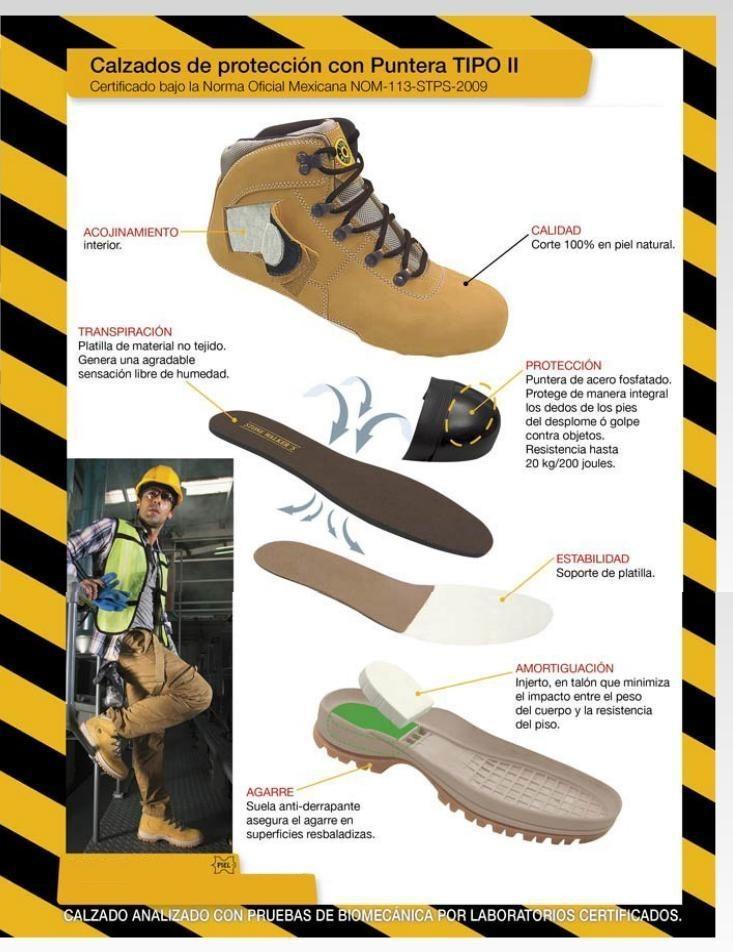 Calzado de seguridad ferrato p caballero tallas 25 30 - Botas de seguridad precios ...