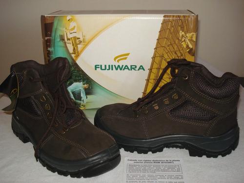 calzado de seguridad fujiwara nº 40 - rigidez dieléctrica