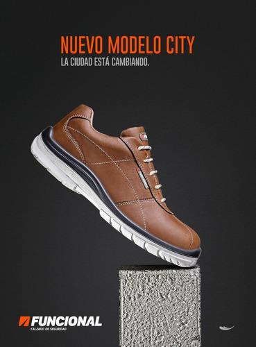 calzado de seguridad funcional city