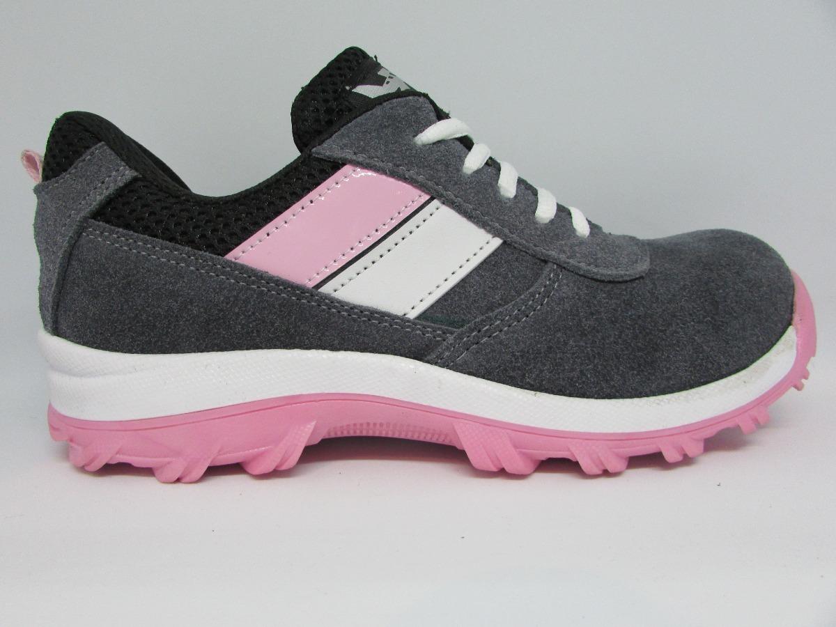 e03e7689a67f3 Calzado De Seguridad Industrial Tipo Tenis Para Mujer -   550.00 en ...