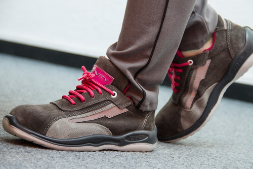 calzado de seguridad kamet botines dama p. alum. dielect.