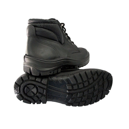 calzado de seguridad pvc-caucho c/puntera nº 38 - negro