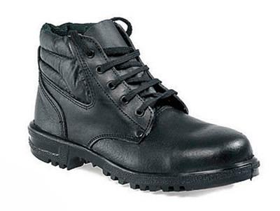 calzado de seguridad pvc-caucho c/puntera nº 45 - negro