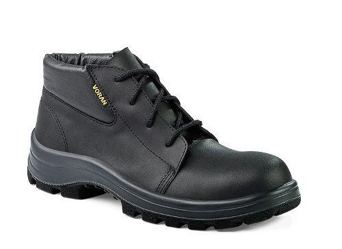 calzado de seguridad voran, negro nº 44 puntera de acero