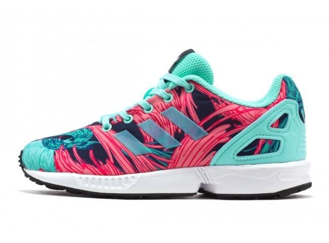 sale retailer 3c38c 2d093 calzado deportivo adidas para niña originals zx flux