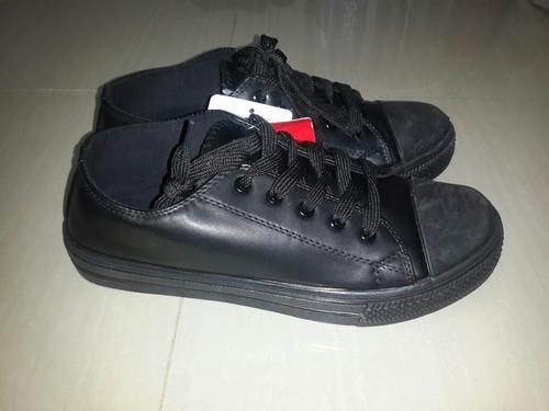 calzado deportivo tipo convers negro 41 al 45