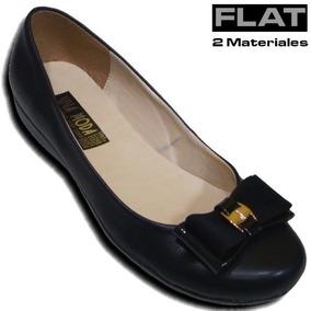 17a5b69c Zapatos Piso Negro Comodo Dama - Zapatos en Mercado Libre México