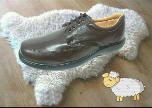 calzado especial para pie delicado y diabetico borrego
