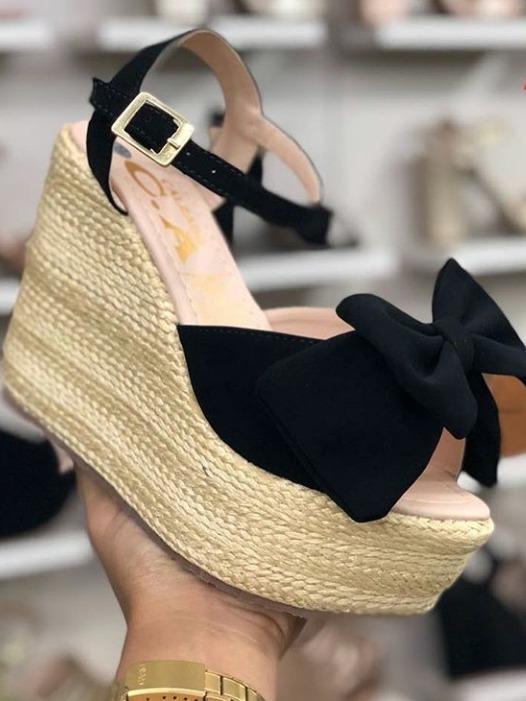 9a4c2990 Calzado Femenino Plataformas Dama Nueva Colección Moda Mujer ...
