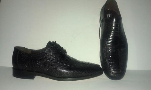 calzado fino para caballero
