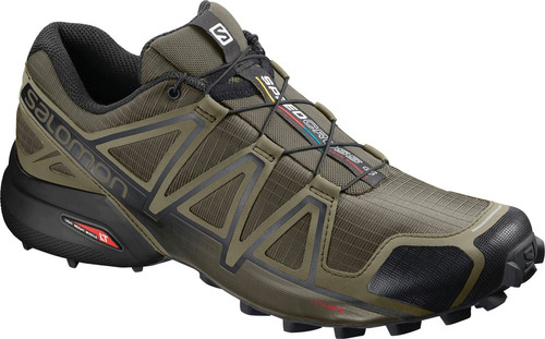 calzado masculina salomon - speedcross 4 m verde - trail run