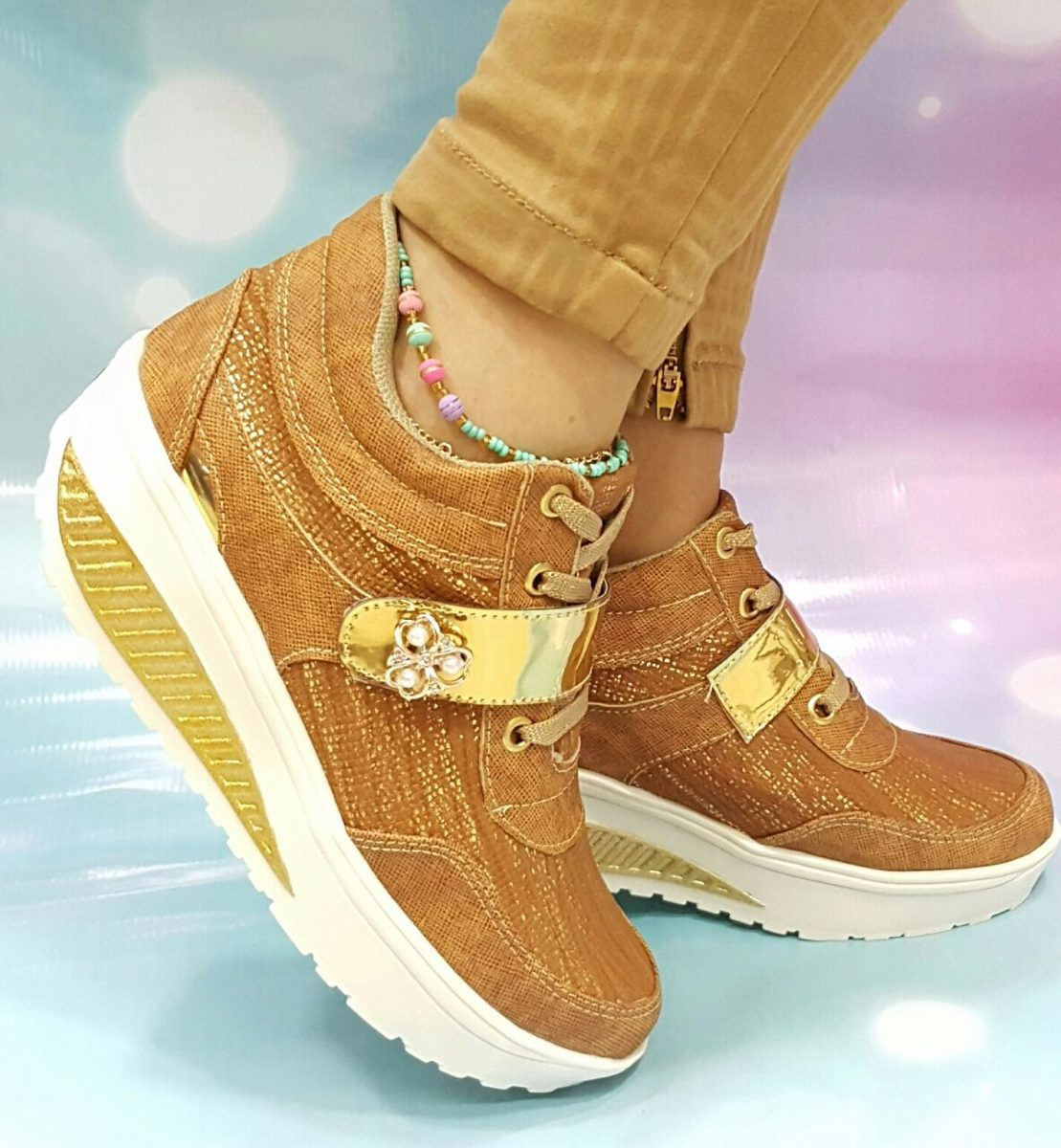 c8b2d47a Calzado Miel Tendencia En Colombia Moda Zapatos Dama Mujer ...