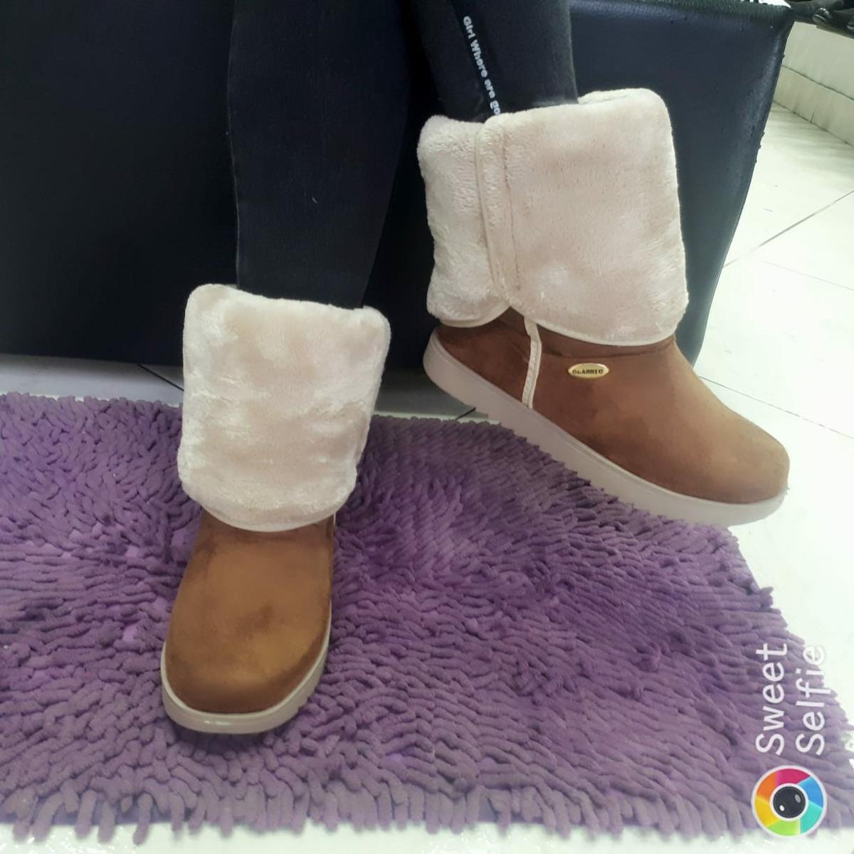 c283adc6c3749 Calzado Mujer Botas Para Dama Tipo Babucha -   70.000 en Mercado Libre