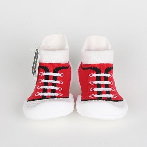 9abcf51a6e008 Calzado Para Bebés - Zapamedias Canvas Rojo -   1.090