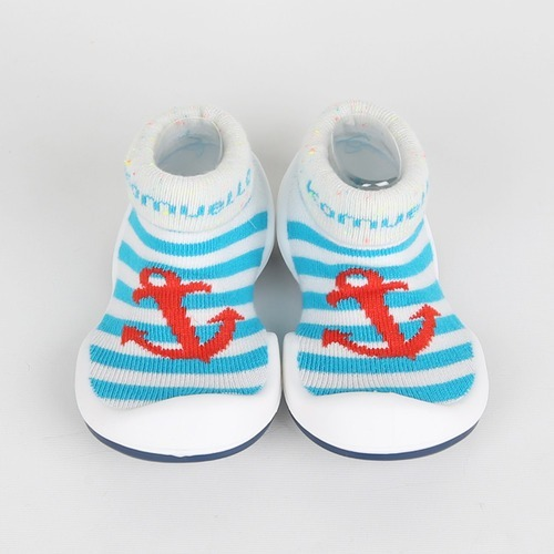 ce661e716b84b Calzado Para Bebés - Zapamedias Marine Blue   Orange -   850
