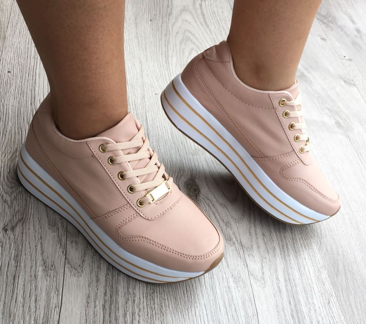 Para Femenina Calzado Moda Rosado Tenis La A Zapatos Mujer XOk80wNPn