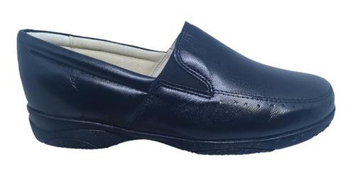 calzado para pie delicado y diabético borrego dama negro.