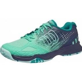 d20d76f3 Calzado Para Tenis Wilson Kaos Comp Green 24mx Para Dama ...