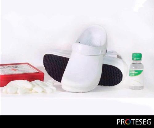 calzado para uso médico, enfermero, odontologo y chef