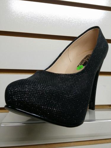 calzado reyna zapato de fiesta plateado. plataforma interna