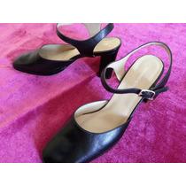 Zapatos Mujer Cuero Negro Talla 38 Stefano Cocci Arequipa