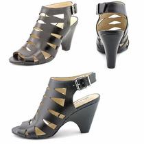 Zapatos Inc Cuero Negro 37 1/2 Nuevo Liquidacion Verano