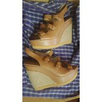 Sandalias Taco Cuña Nine West