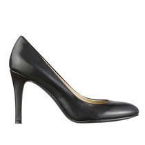 Zapatos Negros De Cuero Nine West Talla 36 Nuevos Con Caja