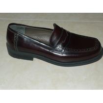 Zapatos De Cuero Carducci Talla 39 De Vestir Suela