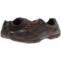 Guess Zapato Cuero Marrón Talla 40 Original Importada Nuevos