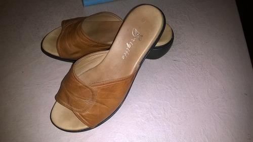 calzado sandalia sueco dama cuero suela livianos * brigitte
