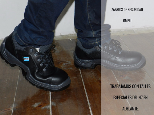 calzado seguridad y trabajo ozono ombu con punta verkar