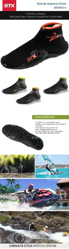 calzado zapatilla bota nautica neoprene anfibio kayak surf
