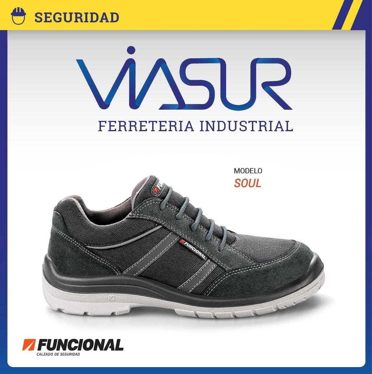ead1f7efdee02 calzado zapatilla de seguridad funcional ultraliviano soul. Cargando zoom.