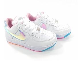zapatillas blancas niña nike