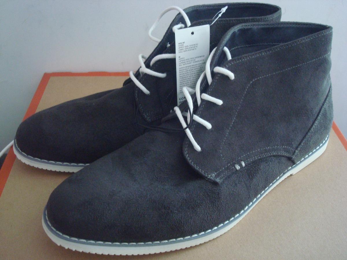 Cargando Zoom amp;m Calzado Hombre Botin 27cm Bota H Zapato Hm Gris Envíograti OfvqwPS