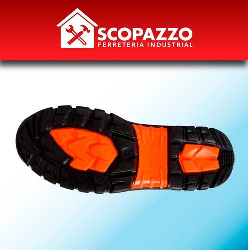 calzado zapato de seguridad funcional terra 38-45 negro
