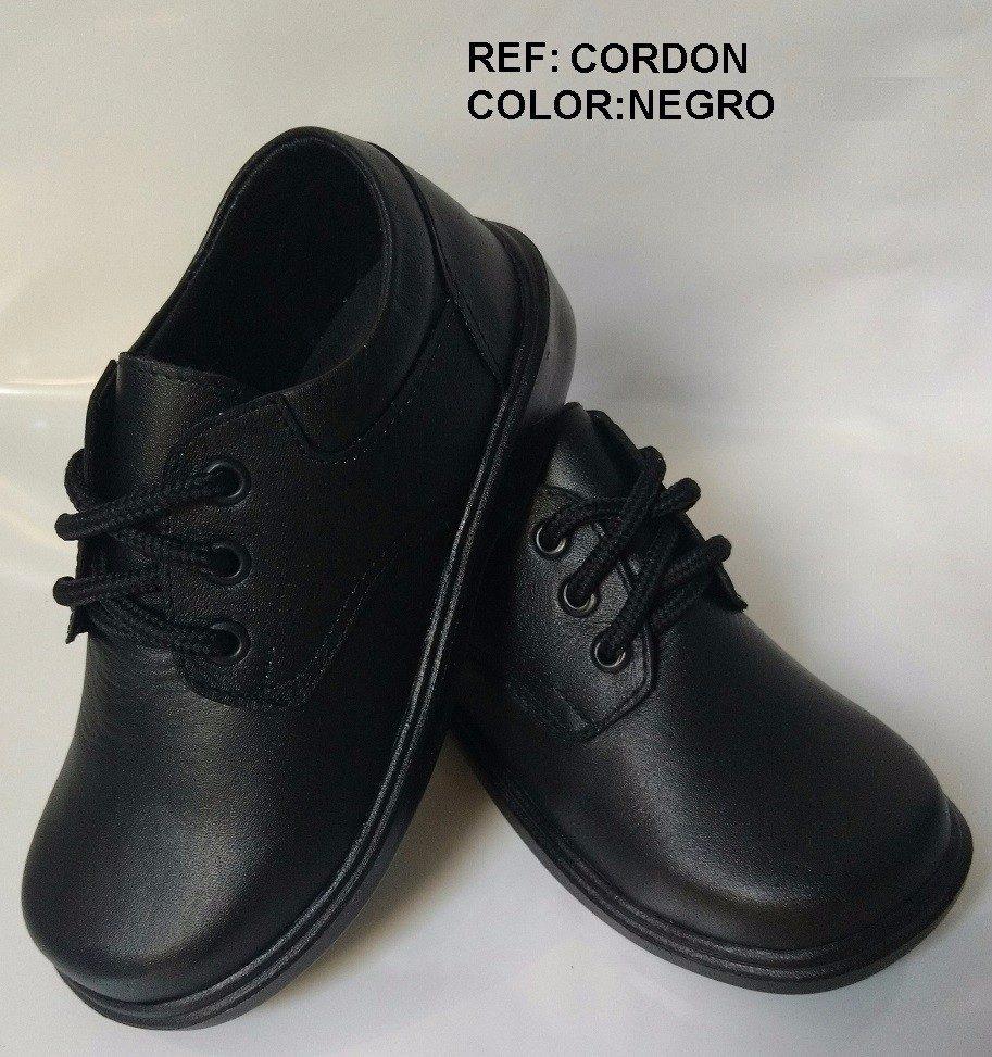 7b033e20304 calzado zapato escolar en cuero cocido negro niño hombre. Cargando zoom.