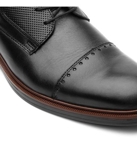 calzado zapato flexi 400102 negro tan oficina salir vestir