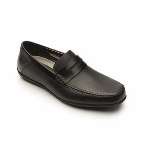 Casual Flexi Zapato Salir Calzado Oficina Negro Vestir 68607 srxBhQdCt