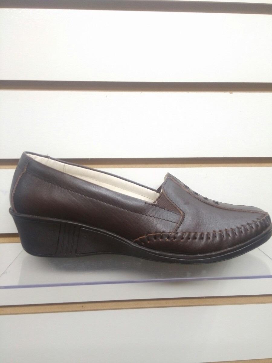 Zapato Piel Genuino Guante Mujer Calzado Mocasin De Cuero 2W9IDHEY