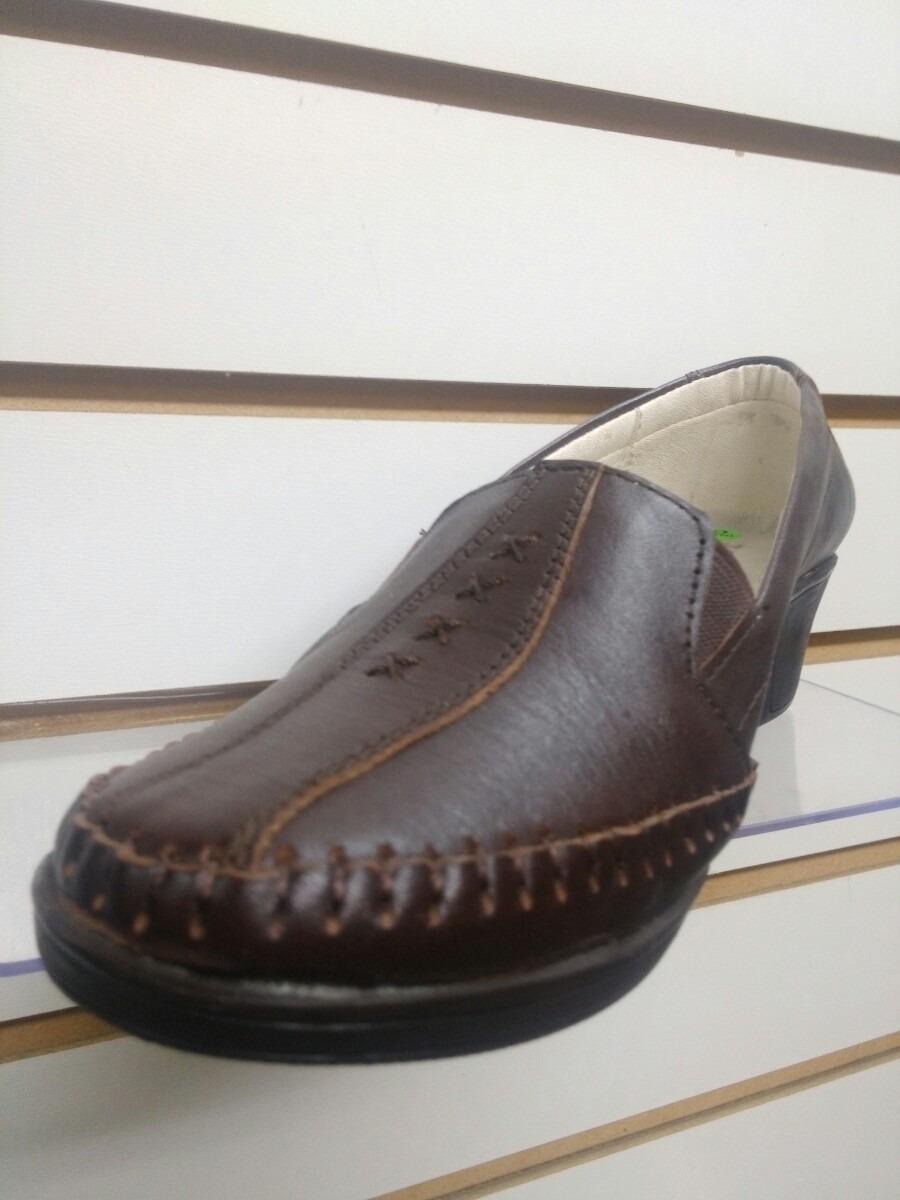 calzado zapato mocasin de cuero piel guante genuino de mujer. Cargando zoom. ba2fd073c9d2