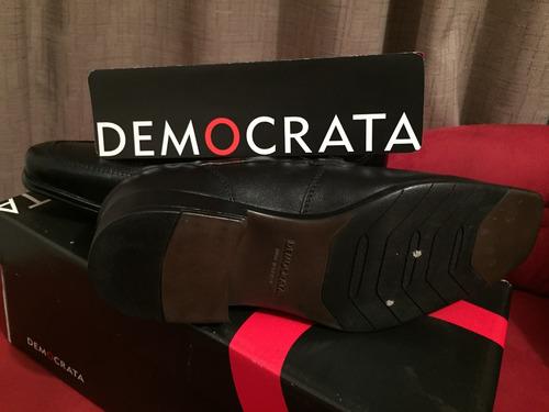 calzado zapatos democrata n°39 nuevos zara guante cardinale