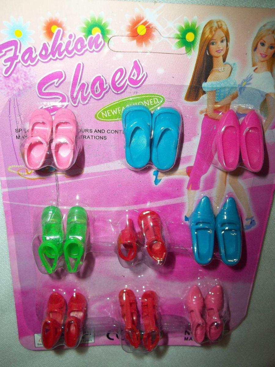 en 00 Scene Para Zapatos Nuevos 180 My Fashion Barbie Calzado xSU1fwq7v