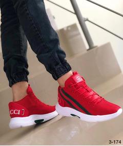 vendido en todo el mundo comprar genuino bajo precio Calzado Zapatos Tenis Gucci Para Hombre Caballero