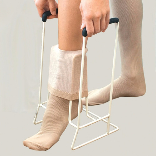 calzador de medias elásticas, compresión, descanso