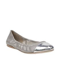 Zapatos Steve Madden Ballerinas 37.5 Nuevas Cuero C/caja