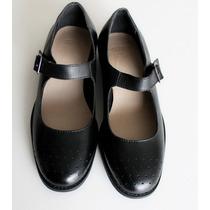 Zapatos Mujer Mary-janes Asos Cuero Negro Pulsera 38 Negro
