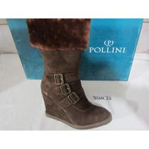 Bota Botin Pollini,cuero